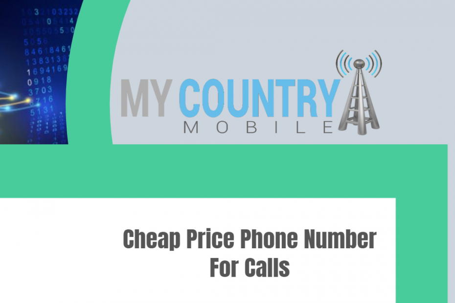 Cheap Price Phone Number For Calls - My Country Mobile
